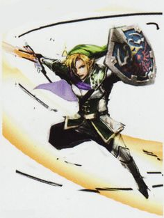 everyone in favor of a Hyrule Warriors dlc costume of the the 'Prince Link' outfit from the concept art say aye