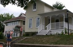 Betsy's House in Deep Valley (Mankato MN) The Betsy-Tacy books by Maud Hart Lovelace are among my favorites. Ever.