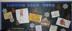 little illuminations: Holiday Bulletin Boards