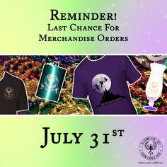 Merchandise reminder: Orders close July 31st! https://nadwcon2017.org/merchandise.html
