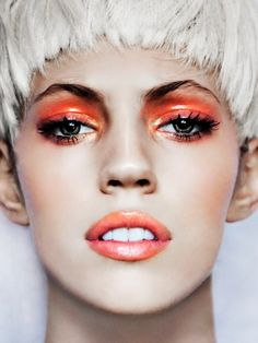 Magazine: Gala Germany Photographer: Markus Lambert Model: Devon Windsor Makeup: Dorita Nissen