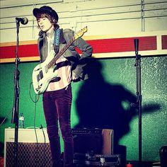 i love his pants! lol
