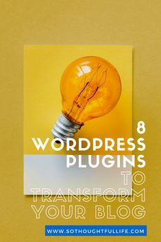 8 Amazing Wordpress Plugins That Every Blog Needs
