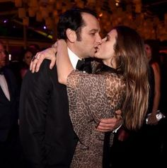 """Reel-to-real loves Matthew Rhys and Keri Russell locked lips in a rare display of affection at the 74th Annual Golden Globe Awards on Jan. 8, 2017. While they didn't take home the award best TV drama acting for their roles in """"The Americans,"""" the couple clearly found ways to console each other."""