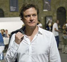 "Colin in Cortona (Italy) at the ""Tuscan Sun Festival"" - August 2011 Uk Actors, Actors & Actresses, Mr Darcy, Bridget Jones, Colin Firth, English Men, Toscana, Pride And Prejudice, Best Actor"