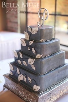 Wedding cake, #wedding #cake © Bella Muse | www.Bella-Muse.com