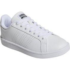 the latest 95c44 f6dd8 adidas Women s NEO Cloudfoam Advantage Clean Court Shoe Ftwr White Ftwr  White Core Black