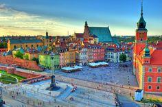 """Varsóvia - Polônia (De Guia Viajar Melhor via Catraca Livre """"100 cidades charmosas para você conhecer na Europa"""" https://catracalivre.com.br/geral/viagem-acessivel/indicacao/100-cidades-charmosas-para-voce-conhecer-na-europa/)"""