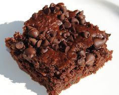 Double Chocolate Zucchini Cake:  This can be made sugar-free so easily!