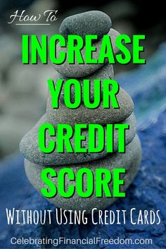 Need to increase your credit score but don't want to take on any debt? What if…