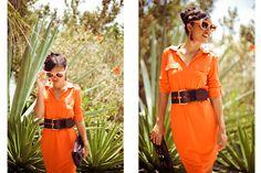 Style Bermuda: Gibbons Company dress    Michael Kors belt    Burberry bag   Shot at The Fairmont Southampton