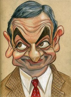Rowan Atkinson by Zack Wallenfang
