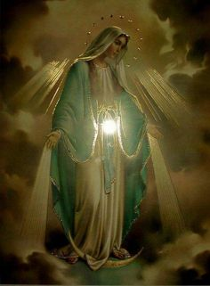 The Blessed Mother, My Beloved Spiritual Mother.