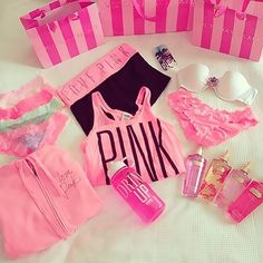love pink Victoria's Secret ♡ ♡♡ ♡