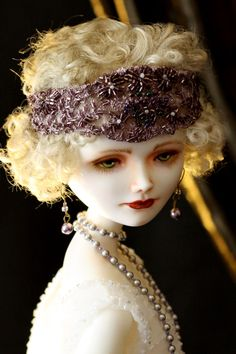 "Gladys. Collection ""Ziegfeld Girls"". porcelain. 56 cm"