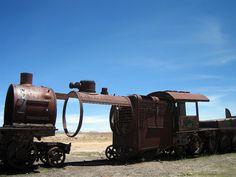 7 Incredible Abandoned Train Graveyards