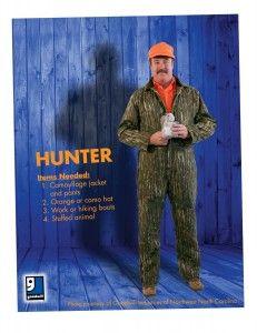 Goodwill Halloween Costume Creation Idea-Hunter