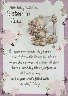 Happy Birthday Wishes Sister Messages For Quotes Beautiful