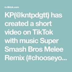 KP(@kntpdgtt) has created a short video on TikTok with music Super Smash Bros Melee Remix (#chooseyourcharacter). You vs the guy she told you not to worry about #chooseyourcharacter #instagramvstiktok #instagram #tiktok #socialmediachallenge Sofia Carson, Ice Cream Painting, Super Smash Bros Melee, Sound Proofing, Beach Bunny, No Equipment Workout, Videos, At Home Workouts, No Worries