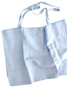 TOTE BAG IN CHAMBRAY