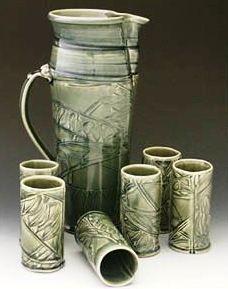 Connie Pike. Flourish Discovery 3, 2011. Flourish, Discovery, Mugs, Tableware, Dinnerware, Cups, Dishes, Mug, Tumbler