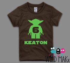 Yoda Birthday Shirt - For a Star Wars Themed Birthday Party!