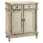 Stein World Furniture Heidi Accent Chest, Antique White This petite hand painted accent chest features turned column post edging and hand painted creamy vintage Decor, Chic Home Decor, Stein World, Accent Cabinet, Furniture, Accent Furniture, Distressed Cabinets, Accent Chest, Accent Doors