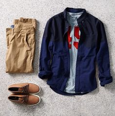 AEO Colorblocked Button Down Shirt - American Eagle Outfitters