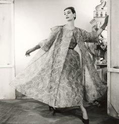 balenciaga vintage gown, 1954