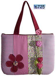 Bolsa patchwork para notebook - Uberlândia - Feminino - produtos
