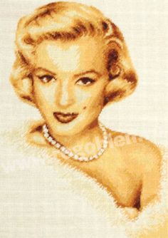 Cod produs Marilyn Culori: 11 Dimensiune: 14 x Pret: lei Cod, Pop Art, Disney Characters, Fictional Characters, Stitch, Disney Princess, Women, Figurative, Embroidery