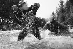 Rafting on our Class 2 river at Clayoquot Wilderness Resort. Special thanks to - Michael Turek Photography