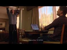 Supernatural 7x05 - The Art of Groin Stretching -- aka Life in Motel Rooms.  Make sure you catch the speed walk past the window. (I want to live my life on the set of this show.)