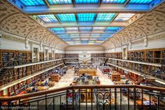 Mitchell Library - Sydney, Australia. 11 Beautiful Libraries from Around the World
