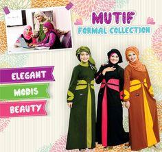 Koleksi Gamis Mutif, Muslimah Inspiratif.