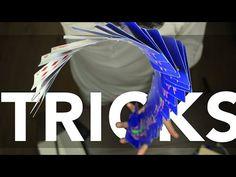 How To Do Card Shuffling Tricks Creating An Awesome Waterfall - YouTube