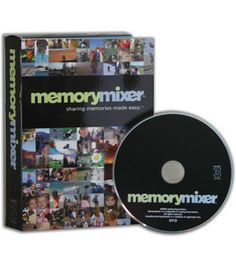 Memory Mixer 3 Software - Turn your digital memories into a multimedia memory experience. MemoryMixer files can be output to DVD, CD and paper, make hybrid pages by adding your own embellishments. Requirements: Windows 2000, XP or Vista. Pentium 4, 1GHz or better. 512 MB RAM (1GB or more recommended, 1BG required for Vista users) 15 MB Video RAM (64 MB recommended)