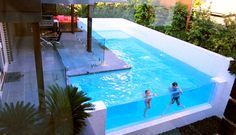 Clearwater Acrylic - Swimming Pool and Spa Windows Melbourne
