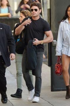 Zac Efron in Converse.