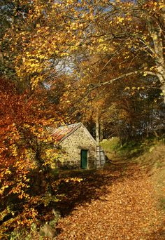 Cottage Perthshire in Scotland