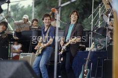 Bruce & Jackson Browne , What smiles!