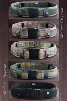 Survival Tactical Belt - Military Belt - Adjustable Length - Men's Accessories…