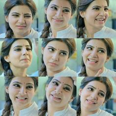 Samantha Ruth Prabhu Cute Expressions  DrushyamMedia Samantha Images, Samantha Ruth, South Actress, South Indian Actress, Theri Images, Vijay Actor, Cute Baby Pictures, Cute Girl Pic, Cute Actors