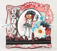 Kraftin' Kimmie Stamps Moonlight Whispers Collection artist Annie Rodrigue Oh, Snap! Stamp Set Dies: My Favorite Things MFT Die-Namics Card by: www.CardsByBecky.blogspot.com