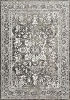 Loloi Joaquin JOA-01 Charcoal/Ivory Area Rug - Incredible Rugs and Decor