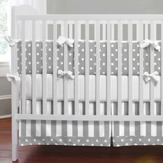 Love this baby bedding for either boy or girl!