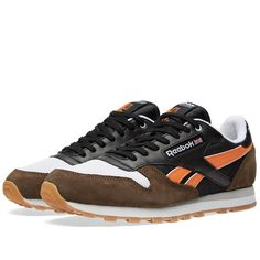 Reebok x Highs and Lows Classic Leather R12 'Autumn Leaves' (Black & Grey)