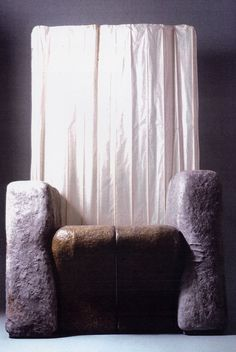 italie, gaetano pesce, membranes armchair, 1990