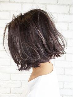 アルバム ハラジュク(ALBUM HARAJUKU) タンバルモリパープルグレーハイライト_ba49921 Hair Inspo, Hair Inspiration, Runway Hair, Hair Arrange, Medium Short Hair, Hair Color And Cut, Hair Images, Short Bob Hairstyles, Hair Highlights