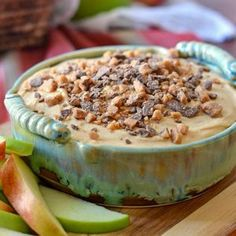 Caramel Apple Cheesecake Dip